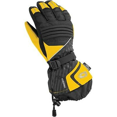 Castle X Rizer G7 Snowmobile Gloves Yellow M-2XL  Ski Doo yellow