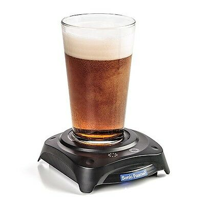 Sonic Foamer Ultrasonic Beer Foamer Fresh Tasting Beer California Creations