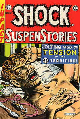 E. C. CLASSIC REPRINT #3 VF/NM,SHOCK SUSPENSTORIES #12,EC,East Coast Comics 1973