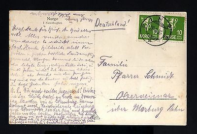 1890-NORWAY-OLD POSTCARD FIMSE to OBERWEIMAR (germany)1935.NORGE.Noruega.TARJETA