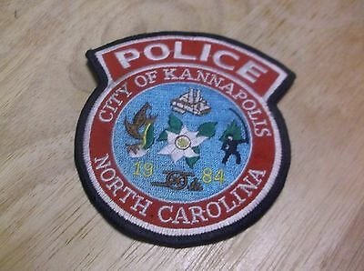 CR11) Kannapolis North Carolina Police Patch
