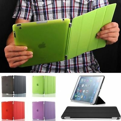 Hot Ultra Thin Magnetic Smart Cover + Back Stand Case For iPad 2 3 4 Generation