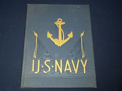 Late 1940's Anchors Aweigh U. S. Navy Yearbook - Great Photos - Yb 698