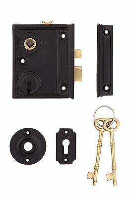 standard cast iron Vertical Rim Lock
