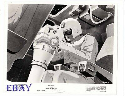 Man In Space by Disney VINTAGE Photo