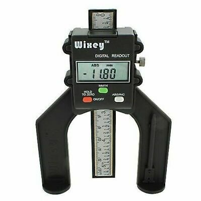 Wixey WR25 Mini Digital Height Gauge with Fractions