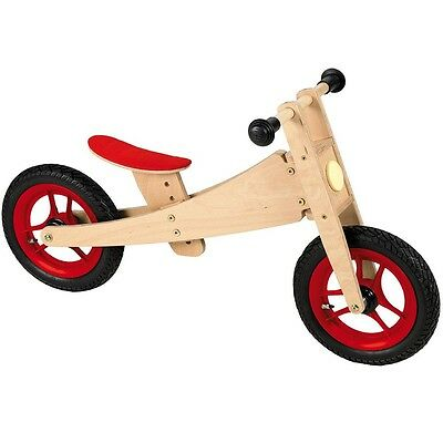 Geuther 2970 2 in 1 Bike Laufrad Holz Birke Massiv Multiplex