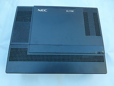 NEC SL1100 IP4AT-1228M-B KSU (ISDN) 12 months w/ty. Tax invoice