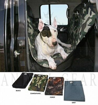 NEW BLACK Outward Hound Dog Back Car Seat Hammock Cover Barrier Partition