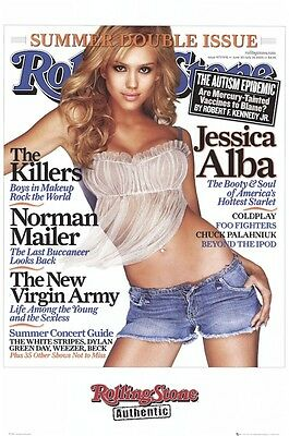 JESSICA ALBA POSTER ~ BODY & SOUL 24x36 Pinup Sin City RS