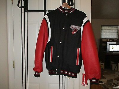 RARE Rolling Stones 2005 Varsity Tour Jacket New With Tags Reversible Rockware L