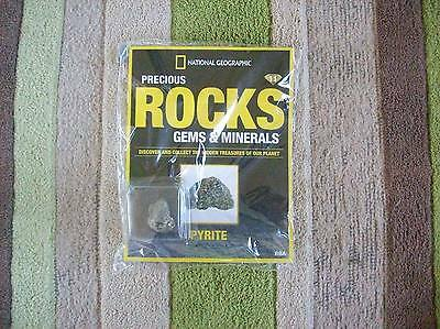National Geographic Precious Rocks Gems & Minerals Magazine Issue 11 Pyrite