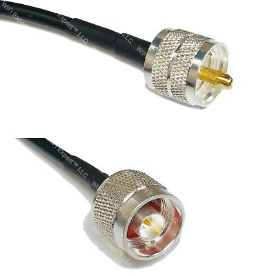Usa Ca Lmr240 Uf Pl259 Uhf Male To N Coaxial Rf Pigtail Cable