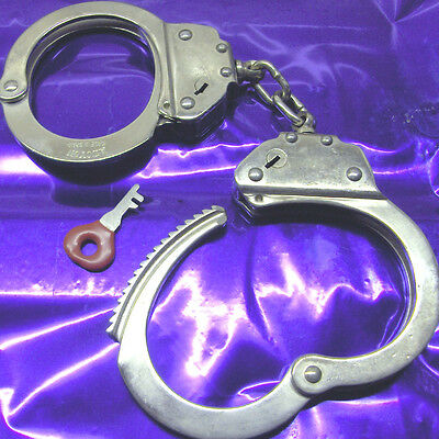 "TOP Handschellen Handcuffs ""ALCYON 15901"" HIGH-SECURITY"