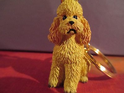 POODLE  APRICOT   ~ KEY CHAIN ~ GREAT GIFT ITEM