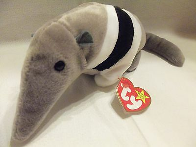 "TY Beanie Babies 9"" Anteater ** ANTS ** 5th Gen New with Tag"