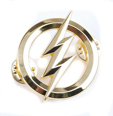 Us The Flash Metal Badges Gold Personality Badge-35807
