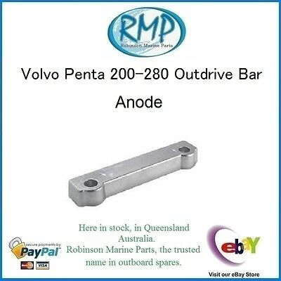 A Brand New Bar Anode Volvo Penta 280 and 290 # CDZ9-16