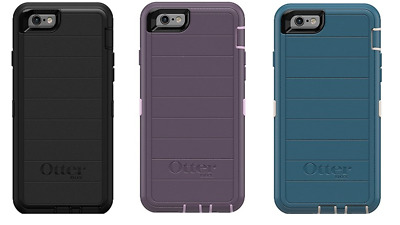100%  Otterbox Defender Commuter Series Cases for Apple iPhone 6/6s & Plus