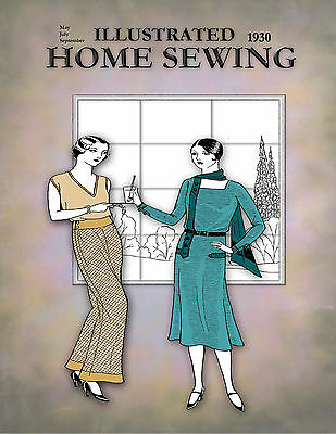 1930s Sew Unique Summer Wardrobe 30s dress, Hat, Wraps patterns FREE Shipping