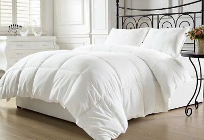 Chezmoi Collection White Goose Down Alternative Comforter, Full/Queen with