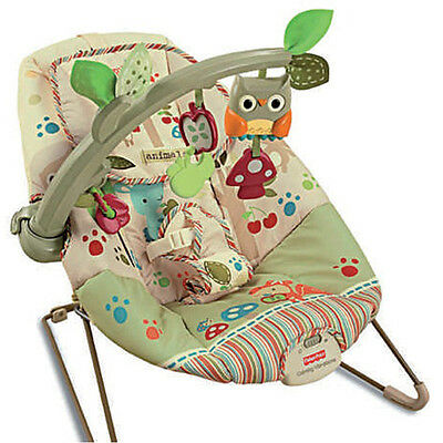 Fisher Price Woodsie Friends Baby Bouncer NEW