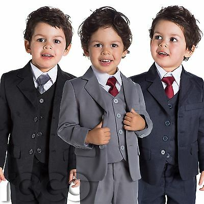 Baby Boys Black Suit, Baby Boys Navy Suit, Page Boy Suits, Grey Suit