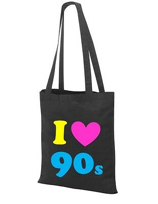 90/'s Fancy Dress Costume Outfit Neon Party Bum Waist 90s Belt Bag