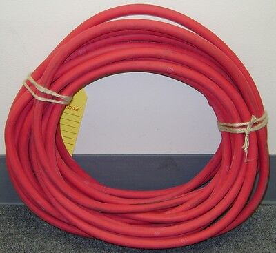 50 Foot of Red 2/0 Welding & Battery Cable Made In USA