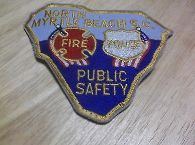 CR17) Vintage North Myrtle Beach Police Patch