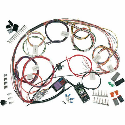 Cableado Electrico Completo Para Harley-Davidson® Complete Bike Wiring Harness