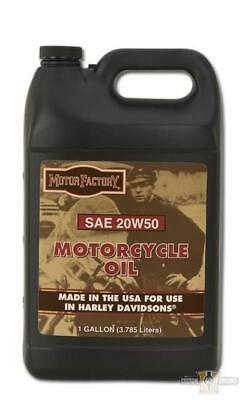 Motor Factory SAE 20W50 Harley VTwin Engine Oil 1 Gallon