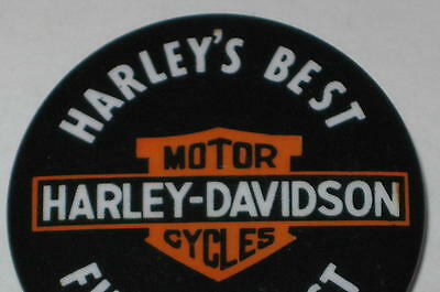 "Harley-Davidson ""Harley's Best - @#%& the Rest!"" Pin 1.75"""