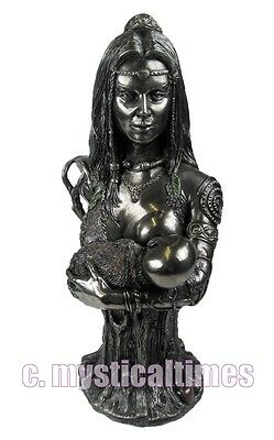 New * Mother Earth *wicca Figurine Ornament From Nemesis Now4018 With Free Post