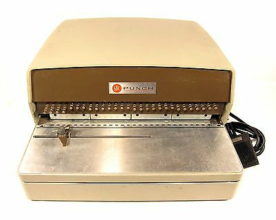 GBC 111-PM General Binding Corporation Electric Hole Punch W/ Foot Pedal 1/4 HP
