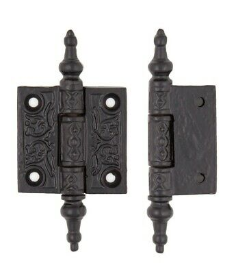 "Cast iron decorative hinge 2 x 2 1/2"". 390118"