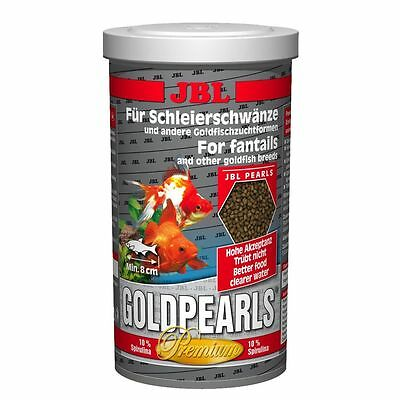 JBL Goldpearls  Gold Pearls 580g/1L  For fantails and other goldfish breeds