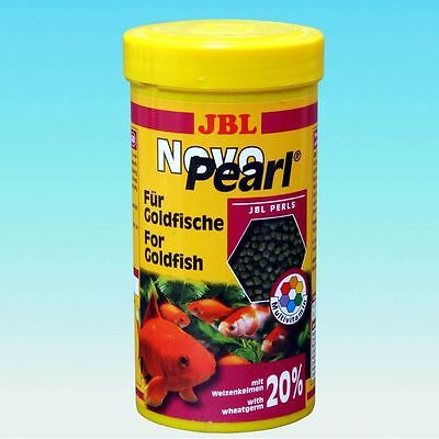 JBL NovoPearl  Novo Pear  Goldfish Pellets 100 ml,250 ml,