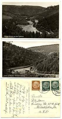 1937 GERMANY Real Photo Postcards Lot of 3 Wurmtal