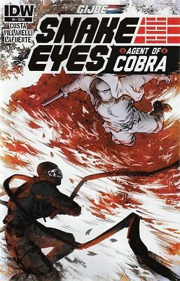 G.i Joe: Snake Eyes, Agent Of Cobra #4 Reg Cvr (Idw Comics)