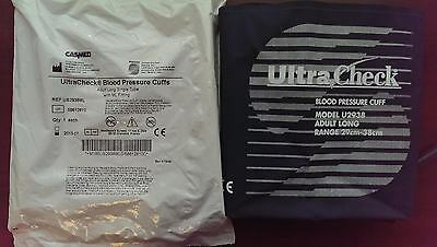 UltraCheck #US2938ML Reusable Blood Pressure Cuff - Adult Long 29-38cm NEW
