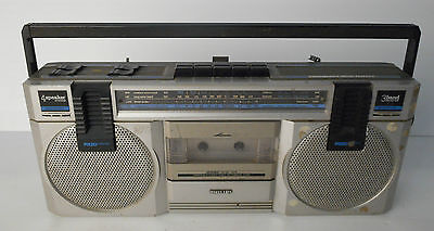 philips type d-8117 radio boombox, anni 80