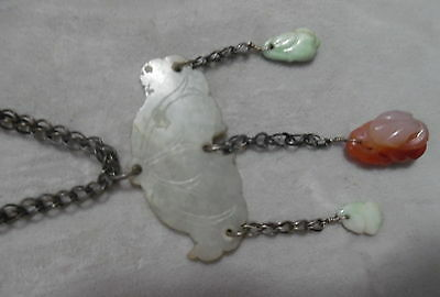 Early China Jade Necklace Dangling Pendants
