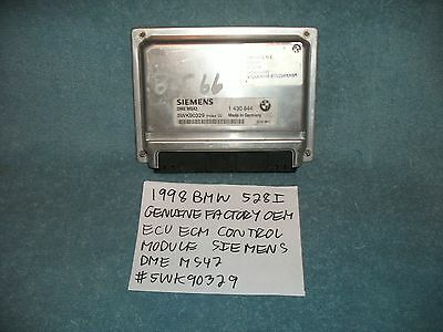 Bmw E39 E46 Factory Ecu Ecm Control Module Siemens 5Wk90329 Tested Free Shipping