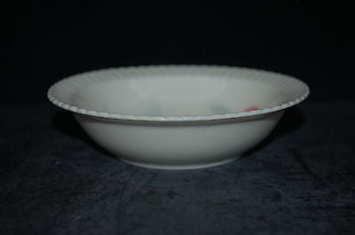Syracuse Flamingo Reeds Rim Fruit Dessert Bowl