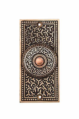 Rice pattern bronze doorbell