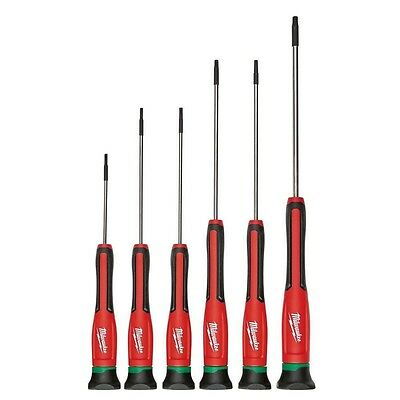 Milwaukee 48-22-2610 6pc TORX Precision Screwdriver Set w/ Case