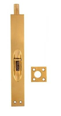 Flush bolts for french doors, solid brass
