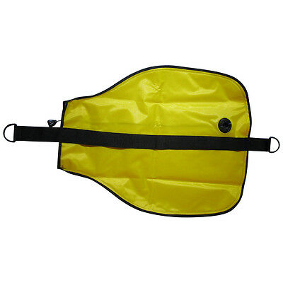 75 LB Capacity Lift Bag for underwater recovery. Internal purge valve with cord