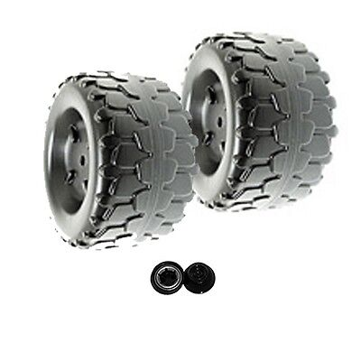 Power Wheels T8396 or T8396-9993 Barbie Jammin' Jeep Replacement Wheel- 2 Pack